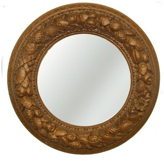 Nut Ring Mirrored Ceiling Medallion Hickory Manor House Finish: Bronze