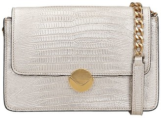 Visone Shoulder Bag In Gold Leather