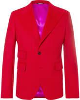 Dolce & Gabbana - Red Cashmere Blazer