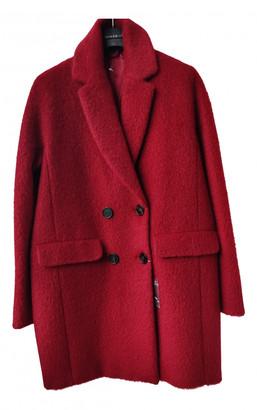 Sportmax Red Wool Coats