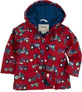 Hatley Little Boys' Rain Coat Farm Tractors
