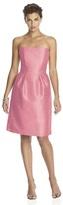 Alfred Sung D614 Bridesmaid Dress in Papaya