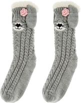 Monsoon Sleepy Bunny Slipper Socks