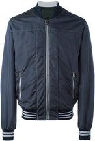Dolce & Gabbana stitch trim bomber jacket