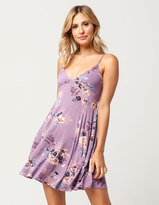 Socialite Floral Cross Back Dress