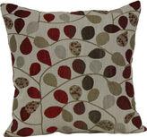 JCPenney JCP 18 Square Jacquard Vine Decorative Pillow