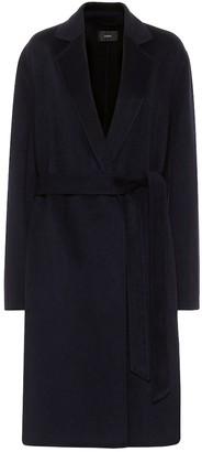 Joseph Cenda wool-blend wrap coat