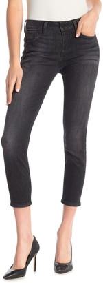 Level 99 Dark Wash Crop Skinny Jeans