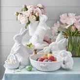 Williams-Sonoma Williams Sonoma Ceramic Sculptural Bunny Family Bowl, Large