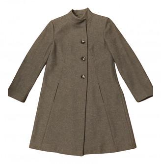 Benetton Grey Wool Coats