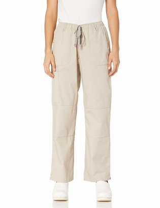 WONDERWINK Women's Wonderwork Straight Leg Cargo Scrub Pant Petite