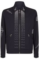 Lanvin Cross Stitch Blouson