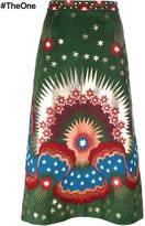 Valentino 'Star Stripes' skirt