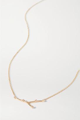 Sebastian Celestial Cancer 10-karat Gold Diamond Necklace