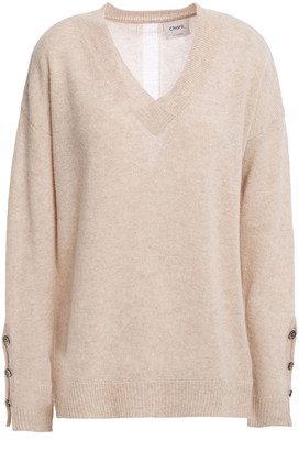 Charli Celli Button-detailed Cashmere Sweater