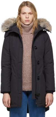 Canada Goose Navy Down Rossclair Parka