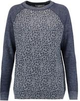 Autumn Cashmere Leopard-print cashmere sweater
