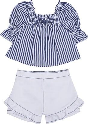 Habitual Kids Stripe Swing Top & Shorts Set