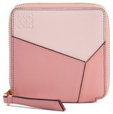 Loewe Women's Colorblock Puzzle French Wallet - Pink