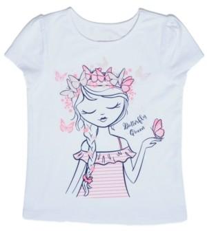 Epic Threads Little Girls Butterfly T-shirt