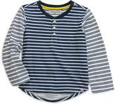 Sovereign Code Boys' Long-Sleeved Striped Henley