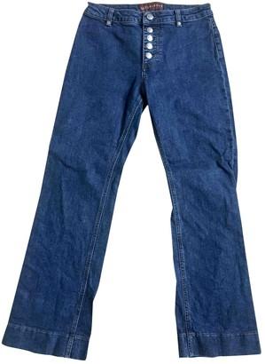 ALEXACHUNG Alexa Chung Blue Cotton - elasthane Jeans for Women
