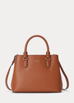 Ralph Lauren Mini Leather Marcy Satchel
