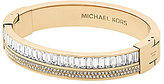 Michael Kors Pav Crystal Hinge Bangle Bracelet