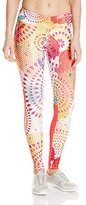 Desigual Women's Athletic Legging with Flower Print