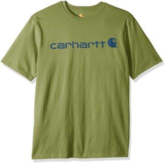 Carhartt Men's Big & Tall Signature Logo Short Sleeve T-Shirt