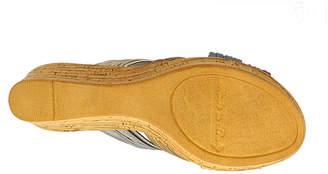 Italiana By Italian Shoemakers Womens Evelyn Wedge Sandals