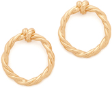 Tory Burch Twisted Knot Earrings