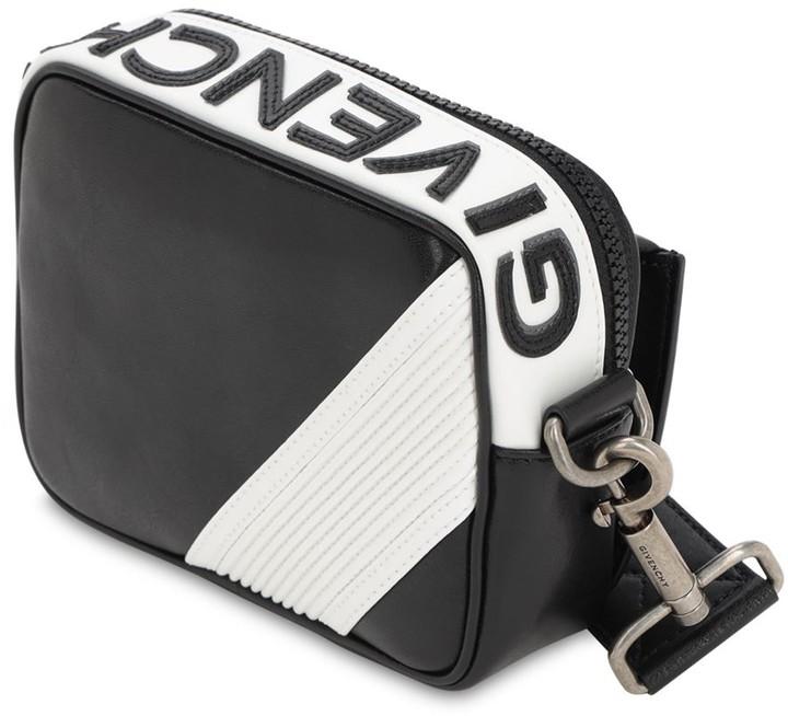 60c899210da Mc3 Reverse Logo Leather Crossbody Bag