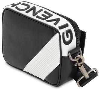 Givenchy Mc3 Reverse Logo Leather Crossbody Bag