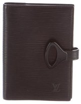 Louis Vuitton Epi Nuits Small Ring Agenda Cover