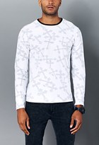Forever 21 Opulent Cross Crew Neck