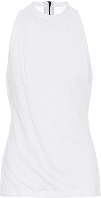 RtA Sabrina cotton-blend tank top