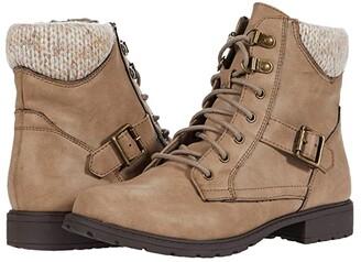Mia Zoni (Little Kid/Big Kid) (Taupe) Girl's Shoes
