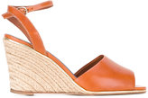 Vanessa Seward Badiane wedge sandals - women - Raffia/Leather - 39