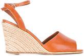 Vanessa Seward Badiane wedge sandals - women - Raffia/Leather - 40
