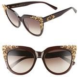 MCM Women's Baroque 54Mm Cat Eye Sunglasses - Brown