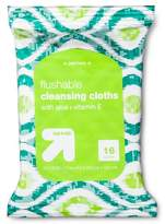 up & up Flushable Cleansing Cloths