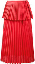Rosie Assoulin Cranes in the sky skirt - women - Cotton/Polyester - 4