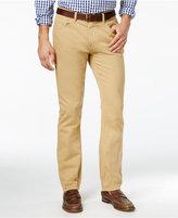 Tommy Hilfiger Men's Straight-Fit Garment-Dye Jeans