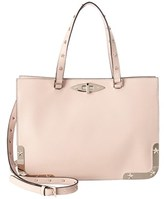 RED Valentino Star Studded Leather Shoulder Bag.