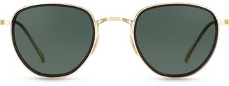 Mr. Leight Roku S Mbk-12kwghrn Sunglasses