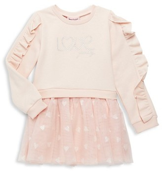Juicy Couture Little Girl's Cotton-Blend Sweater Dress