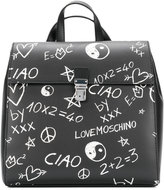 Love Moschino square backpack