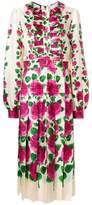 Gucci Rose Garden print dress