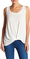 Socialite Front Knot Tank